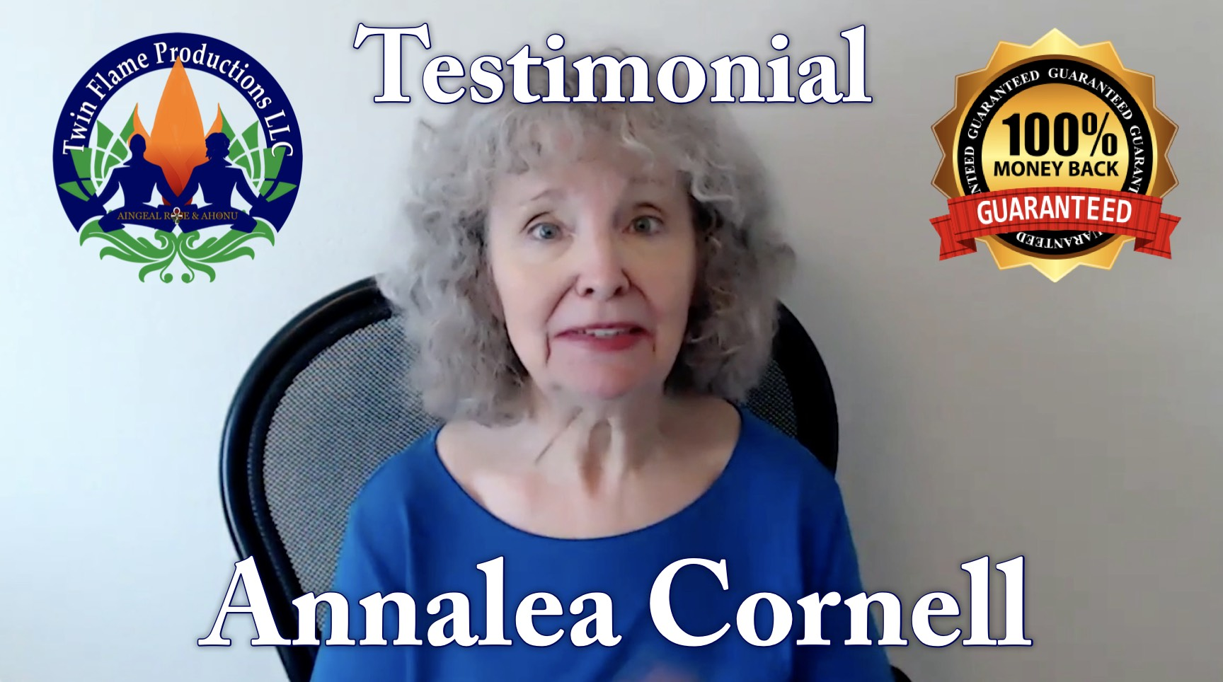 Testimonial from Annalea Cornell
